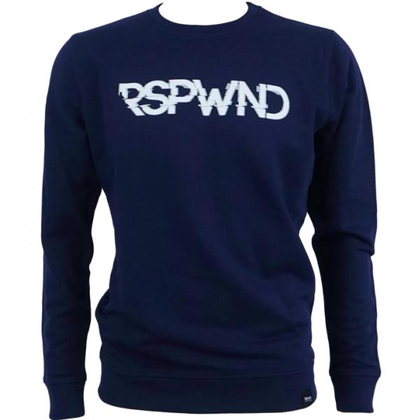 RSPWND - Pullover - Glitch (Dunkelblau)