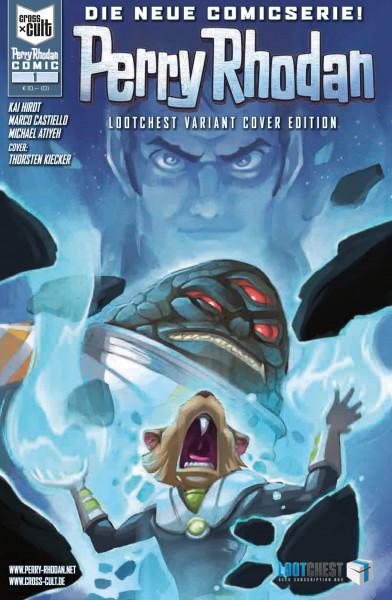Perry Rhodan - Comic Lootchest Variant Cover Edition - Die Kartografen der Unendlichkeit 1