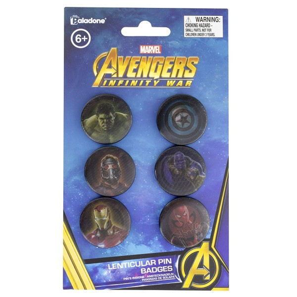 Marvel - Button (6er Set)