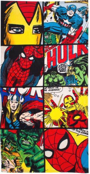 Marvel - Comic Handtuch Strandtuch (75 x 150 cm)