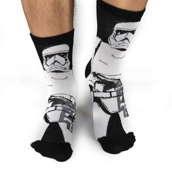 Star Wars - Stormtrooper Socken Gr. 39/42