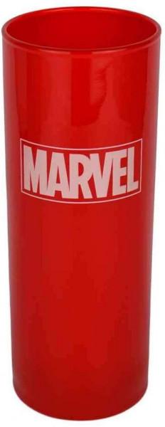 Marvel - Trinkglas - Logo (rot)