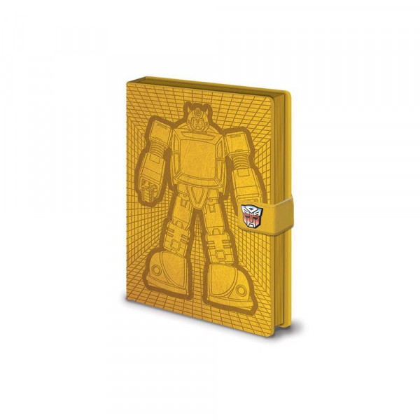 Transformers - Notizbuch (orange)
