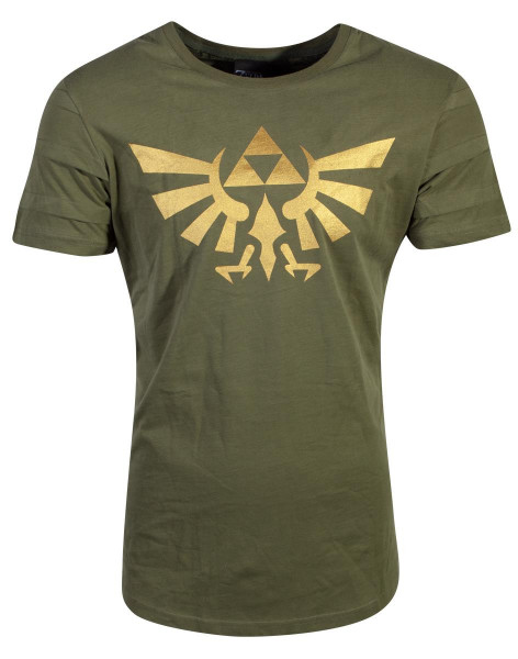 Nintendo - Zelda Triforce Pintuck T-Shirt