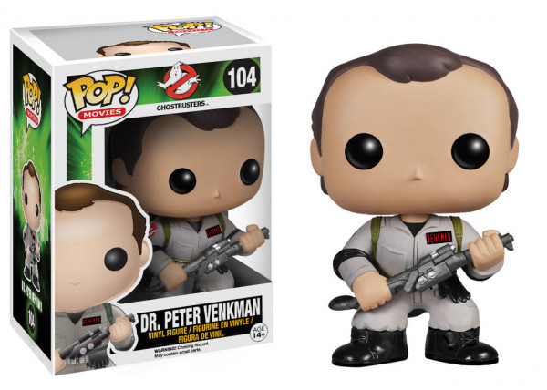 Funko Pop! Movies - Ghostbusters - Dr. Peter Venkman
