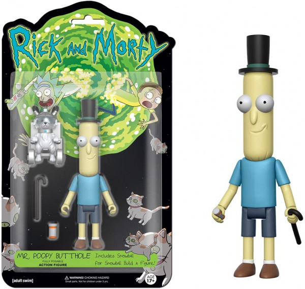 Funko - Rick and Morty - Poopy Butthole - Actionfigur