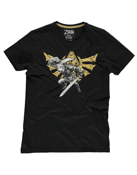 Zelda - Hyrule Link Men's T-Shirt