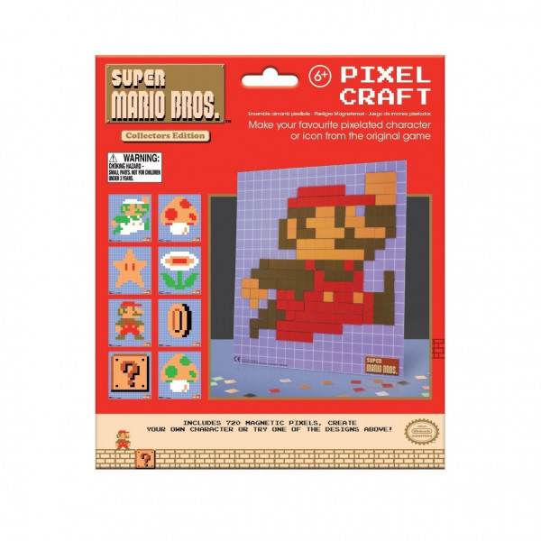 Nintendo - Super Mario - Pixel Mosaik Steckspiel