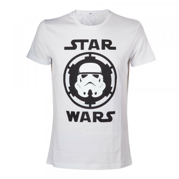Star Wars - Stormtrooper Helmet Emblem -T-Shirt