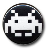 Space Invaders - Button (25mm)