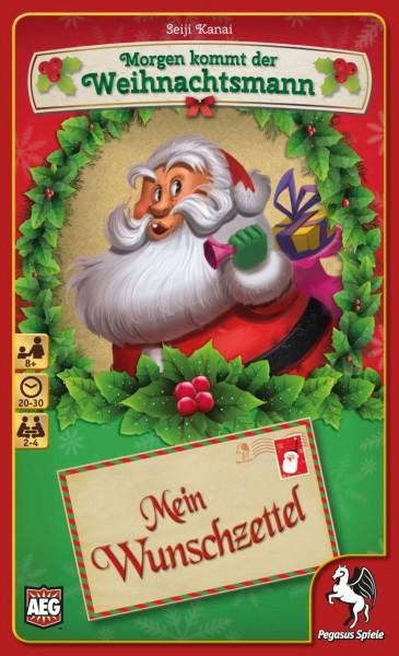 Pegasus Spiele - Morgen kommt der Weihnachtsmann - Mein Wunschzettel Spiel