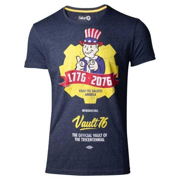 Fallout 76 - Camiseta Vault - T-Shirt