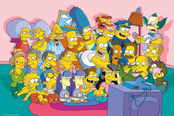 The Simpsons - Poster - FP3936