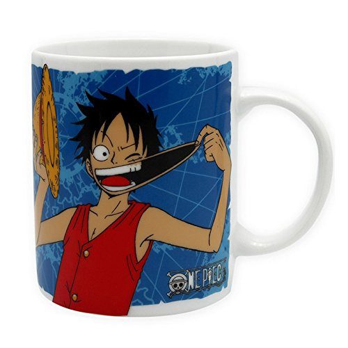 One Piece - Luffy & Emblem - Tasse